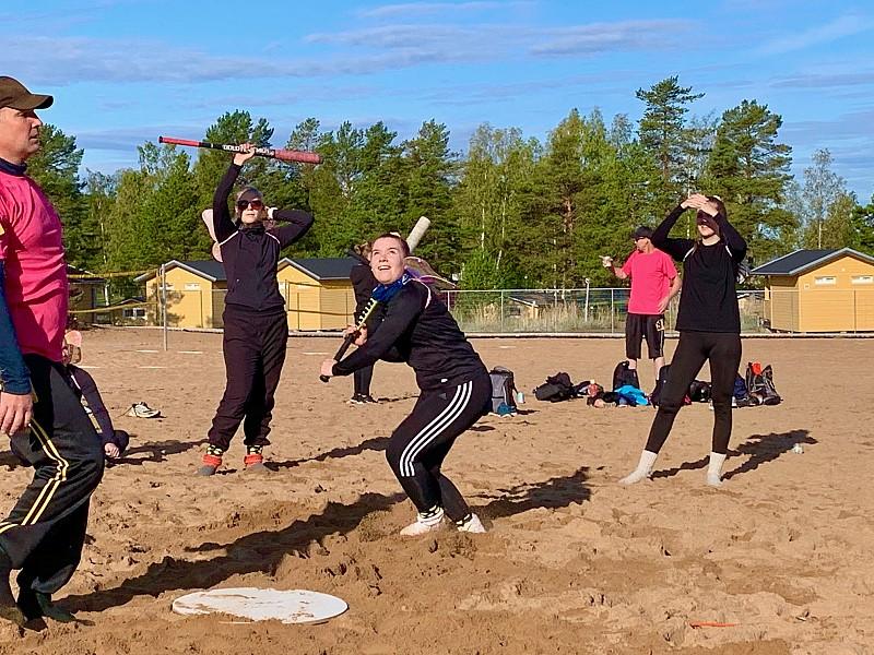 Finnish sand baseball
